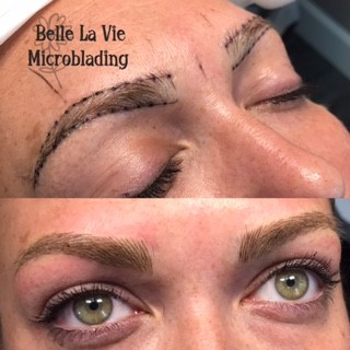 belle la vie brows