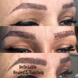Healed Microblading Results 1