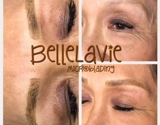Starting the week off right with new BelleLaVie Brows!