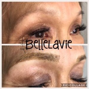 Starting the week off right with new BelleLaVie Brows! 1