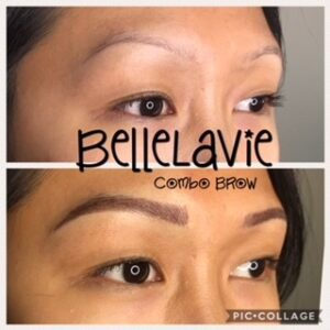 Combo Brows vs Microblading 1