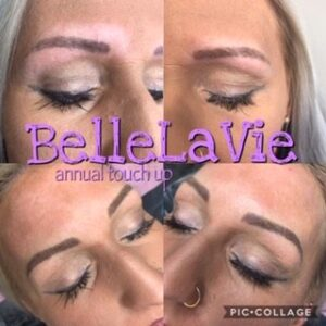 Annual Brow Touch up's 1