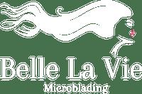 BelleLa Vie Microblading Logo White